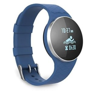 blue smartwatch